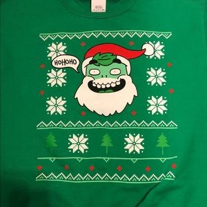 Gildan Sweaters - Ugly Christmas sweater in kelly green size Small